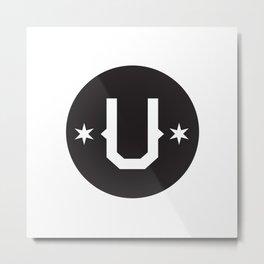Union Sport & Design Secondary logo Metal Print