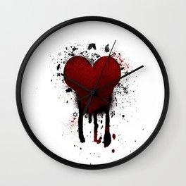 Corazon Transgotico Wall Clock