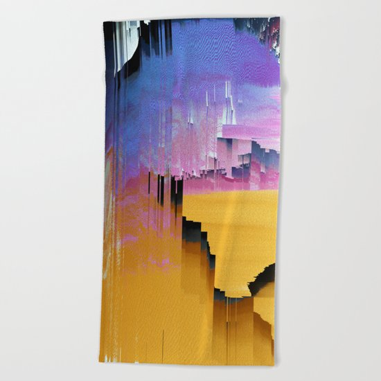 Beautifully Broken Beach Towel