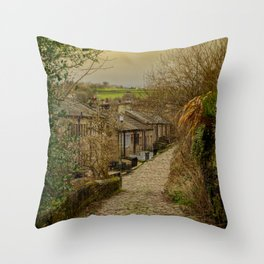 Yorkshire Cobbles Throw Pillow
