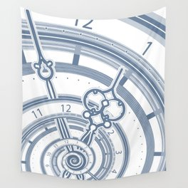 Alice watches 1. Time in Wonderland. Wall Tapestry
