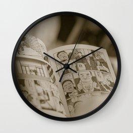 manga Wall Clock