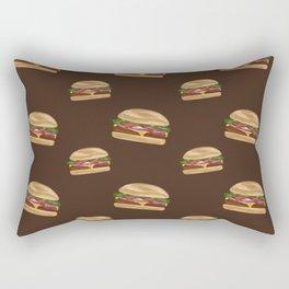 Cheeseburgers! Rectangular Pillow
