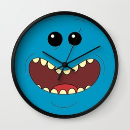 Existence is pain Wall Clock