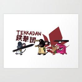 Gundam IBO: Gundam-chu Art Print