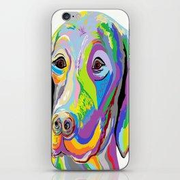 Weimaraner iPhone Skin