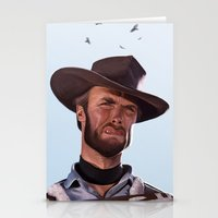 clint barton Stationery Cards featuring Clint by Mark Hammermeister