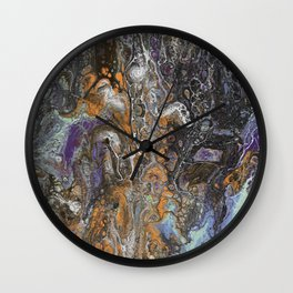 CULTURE CLASH Wall Clock