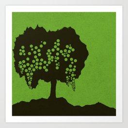 Fruit Tree Series, Green I Art Print