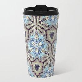 Crystallize (Blue) Travel Mug