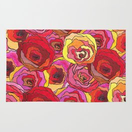 outcast of roses Rug