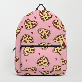 Pizza hearts cute love gifts foodie valentines day slices Backpack 2c87c9fd0d620