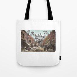 Monster on Main Tote Bag