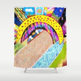 PowerLines 37 Shower Curtain