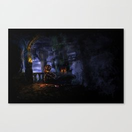 Castlevania: The Bridge Canvas Print