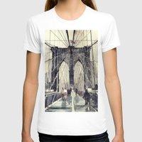 brooklyn bridge T-shirts featuring Brooklyn Bridge by takmaj