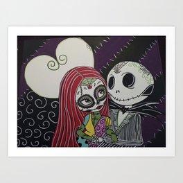 Jack Hearts You Art Print