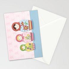 Matryoshka Sisters Stationery Cards