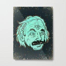 Genius Metal Print