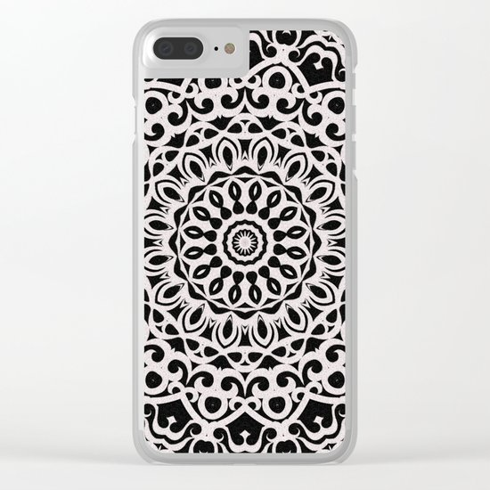 Tribal Mandala G385 Clear iPhone Case