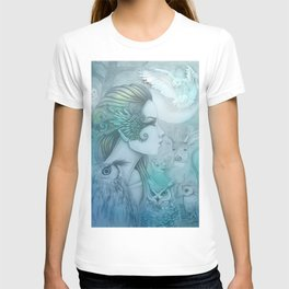 Spirit of Artemis 2 Goddess Art T-shirt