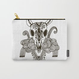 animal skull Carry-All Pouch