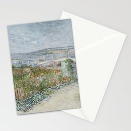 Montmartre: Behind the Moulin de la Galette Stationery Cards