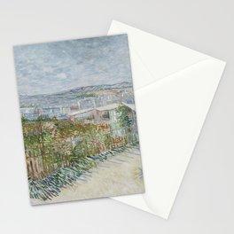 Montmartre: Behind the Moulin de la Galette Stationery Cards