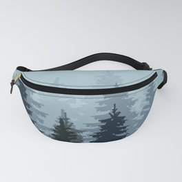 WINTER WALK OF A MOOSE II Fanny Pack