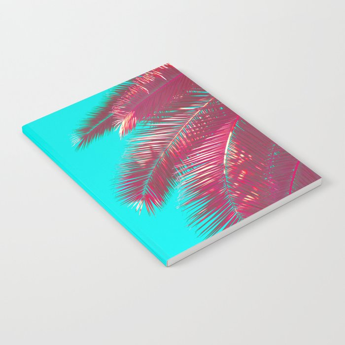 Neon Palm Notebook