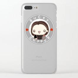 Bucky Coffe Clear iPhone Case