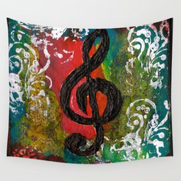 Create Music  Wall Tapestry