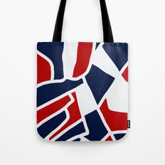 Red White & Blue Tote Bag