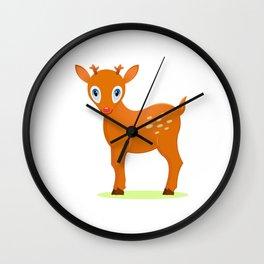 Deer 3 Wall Clock
