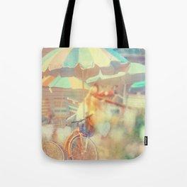 Seaside Town Tote Bag