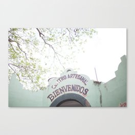 Warm Welcome Canvas Print