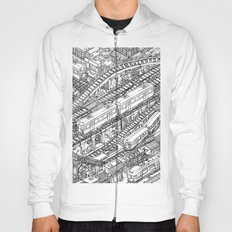 The Town of Train 3 Hoody
