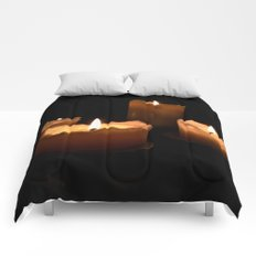 The candles Comforters