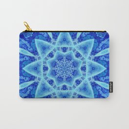 Ice Matrix Mandala Carry-All Pouch