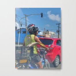 Just another day in Brazil Metal Print