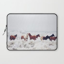 Winter Horseland Laptop Sleeve