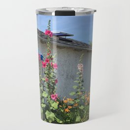 Martha's Vineyard Flowers Travel Mug