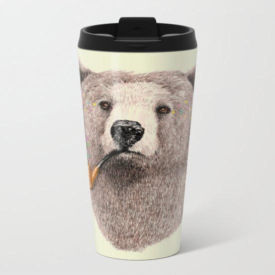 Sailor Bear Metal Travel Mug