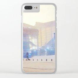 Ibrox stadium Clear iPhone Case
