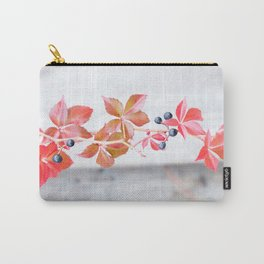 Rustic Berry Vine in the Fall Carry-All Pouch