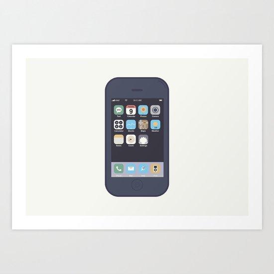 iPhone Art Print