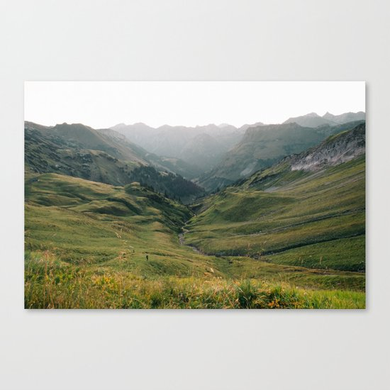 Little People - Landscape Photography Canvas Print