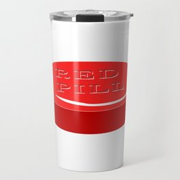 Red Pill Travel Mug
