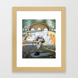 Uptown Girl Framed Art Print