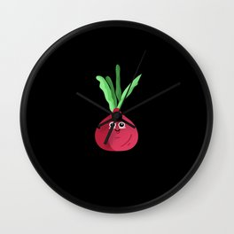 Funny Legume Wall Clock